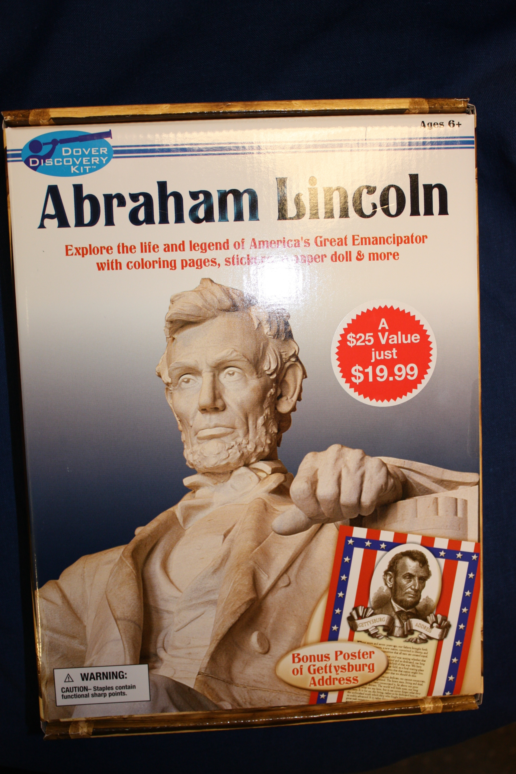 Abraham Lincoln Discovery Kit