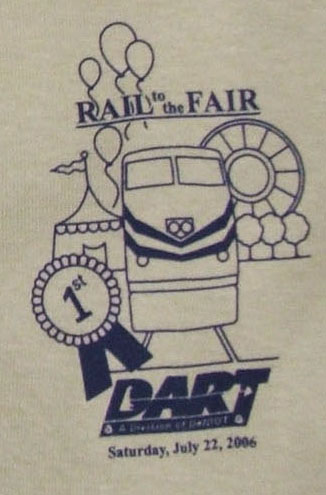 2006 Rail to the Fair tee shirt