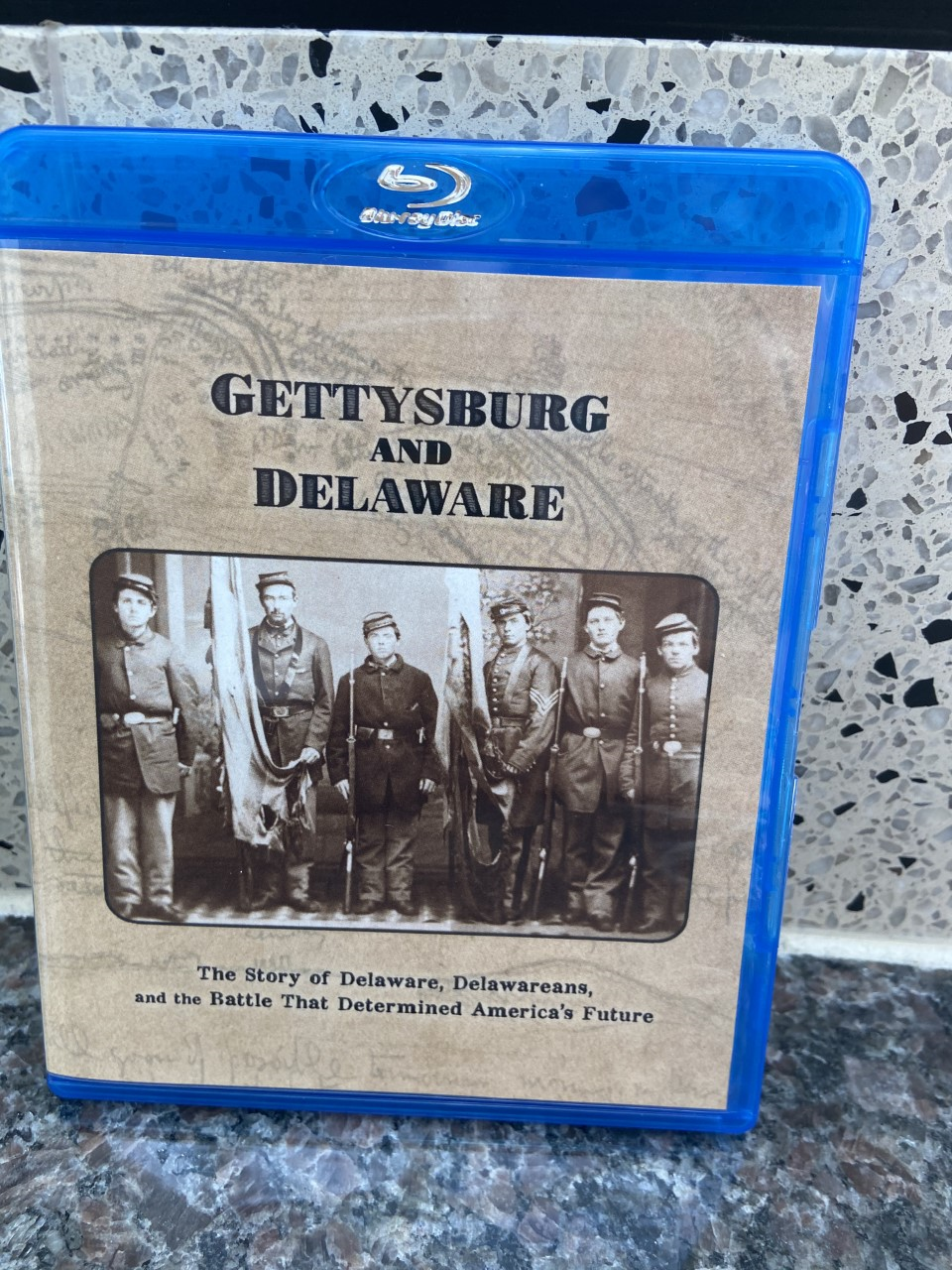 Gettysburg and Delaware: the Story of Delaware, Delawareans, and the Battle that Determined America's Future, Blu-Ray, O.K. Video, 2020. Prices Relect the Cost of the Blu-Ray plus S&H of $3
