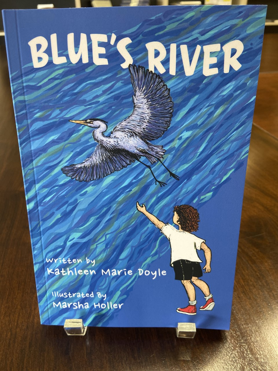 Blue's River, by Kathleen Marie Doyle, 2019, 163 pp. Prices reflect the cost of the book plus S&H fee of $3.