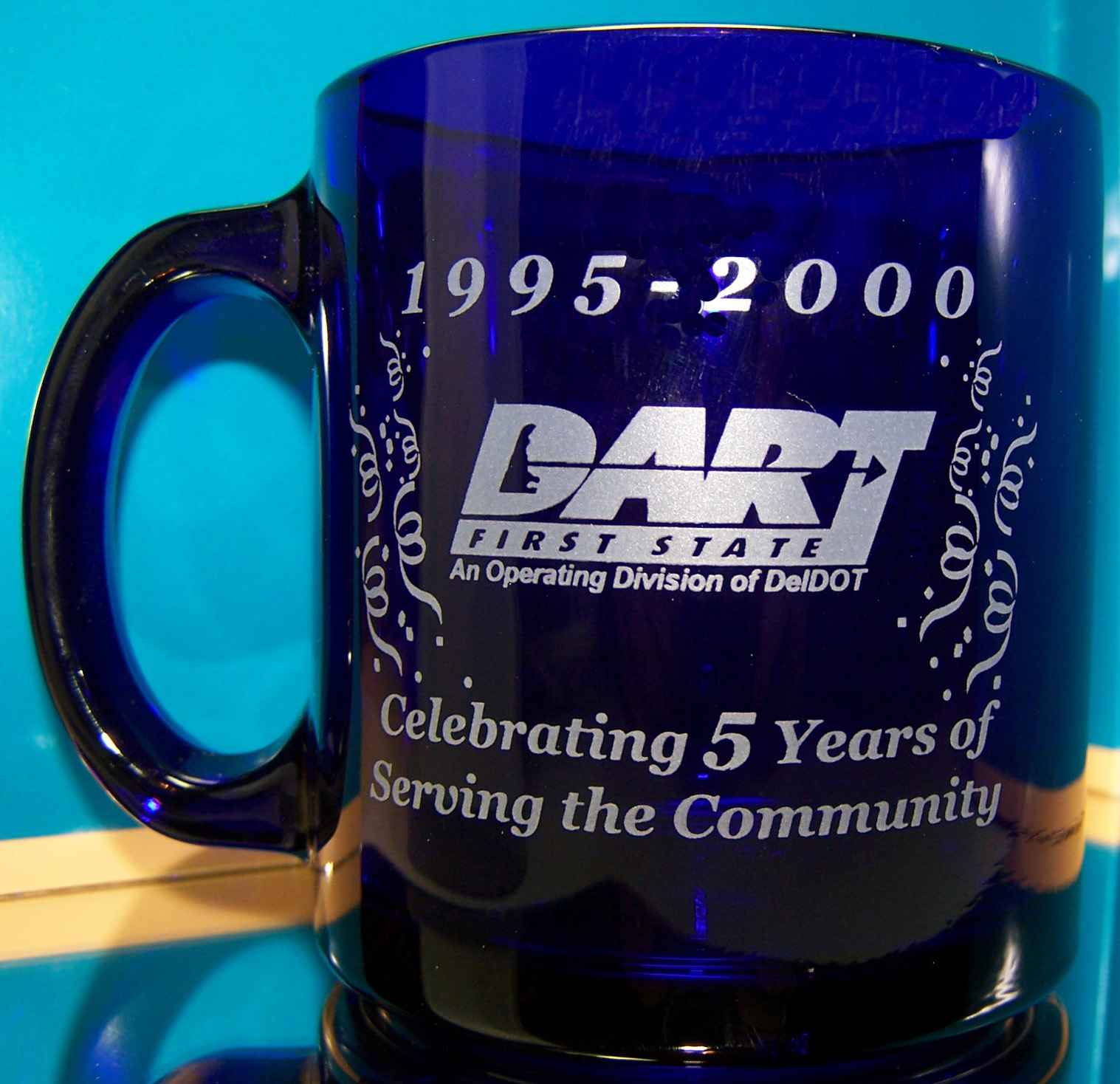 DART 5th Anniversary coffee mug