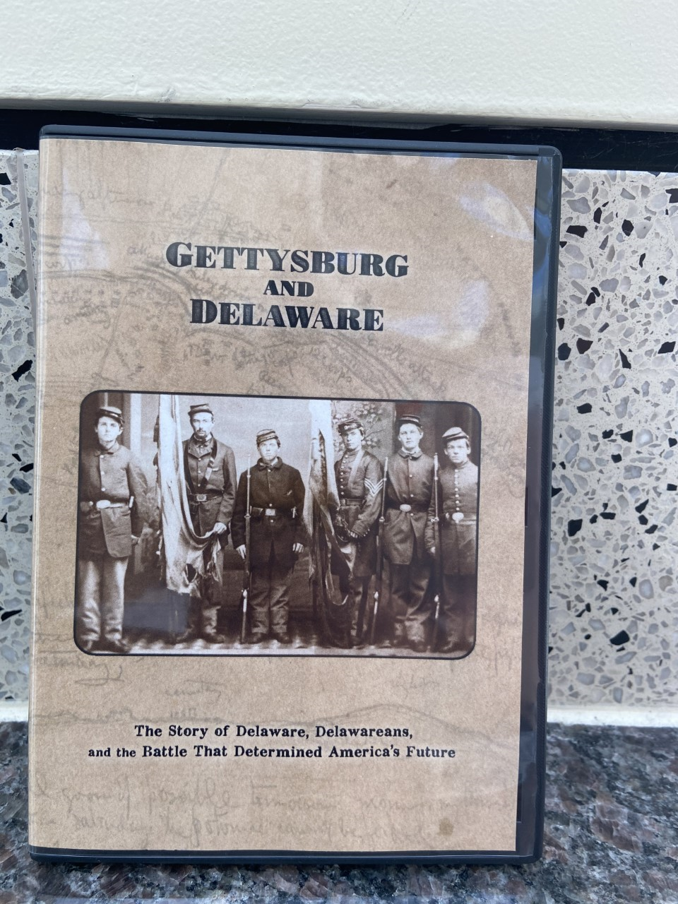 Gettysburg and Delaware: the Story of Delaware, Delawareans, and the Battle that Determined America's Future, DVD, O.K. Video, 2020. Prices Relect the Cost of the DVD plus S&H of $3.