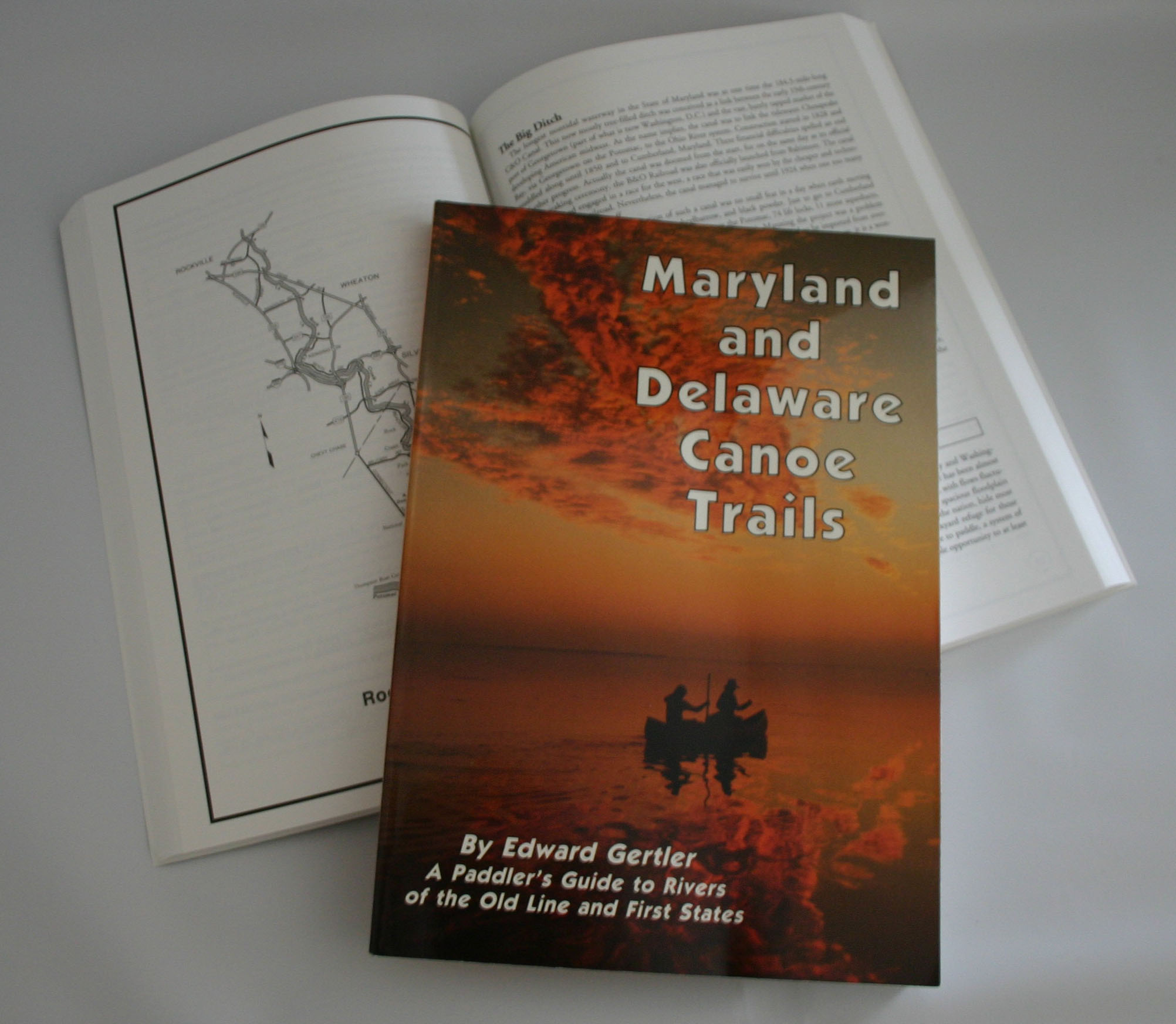 Maryland and Delaware Canoe Trails, by Edward Gertler