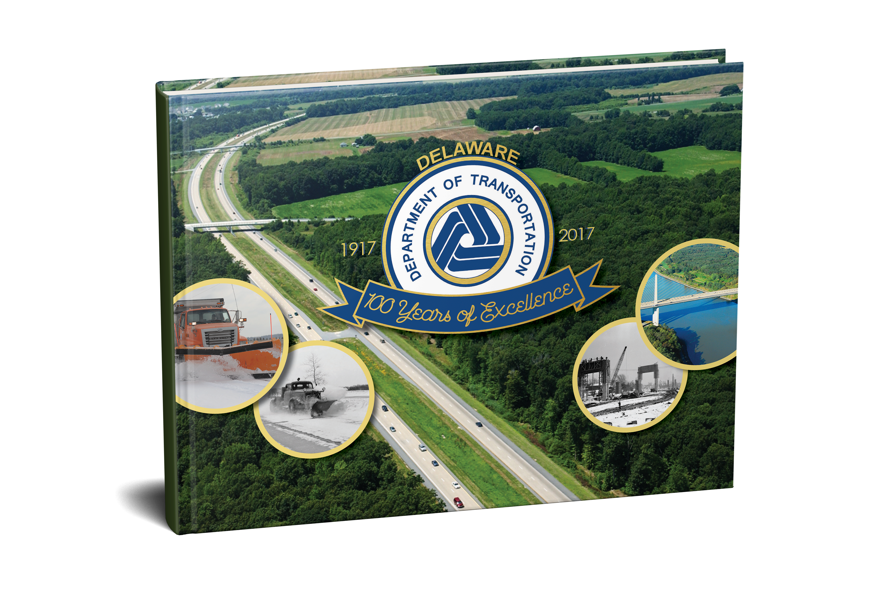 Delaware Department of Transportation's 100-Year Anniversary Book