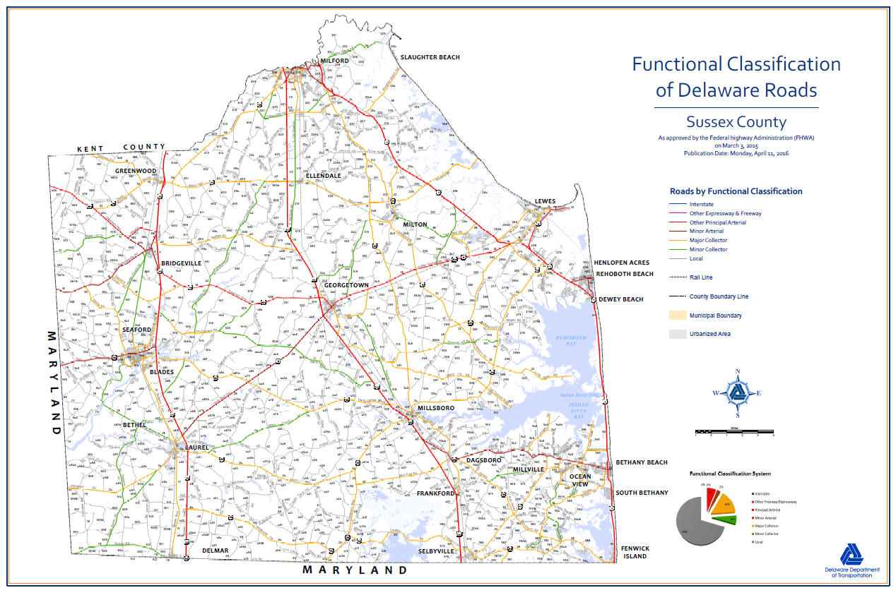 #0010 Functional Classification Maps - Sussex County